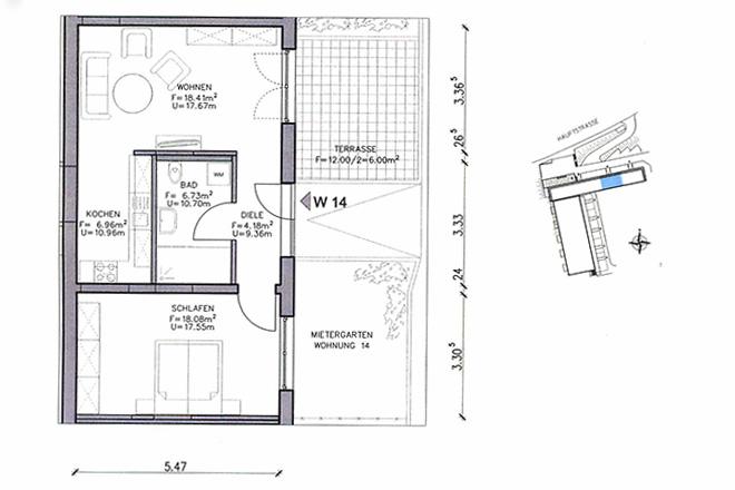 Altersgerecht Wohnen / Altersgerechte Wohnung in Suhl-Mäbendorf