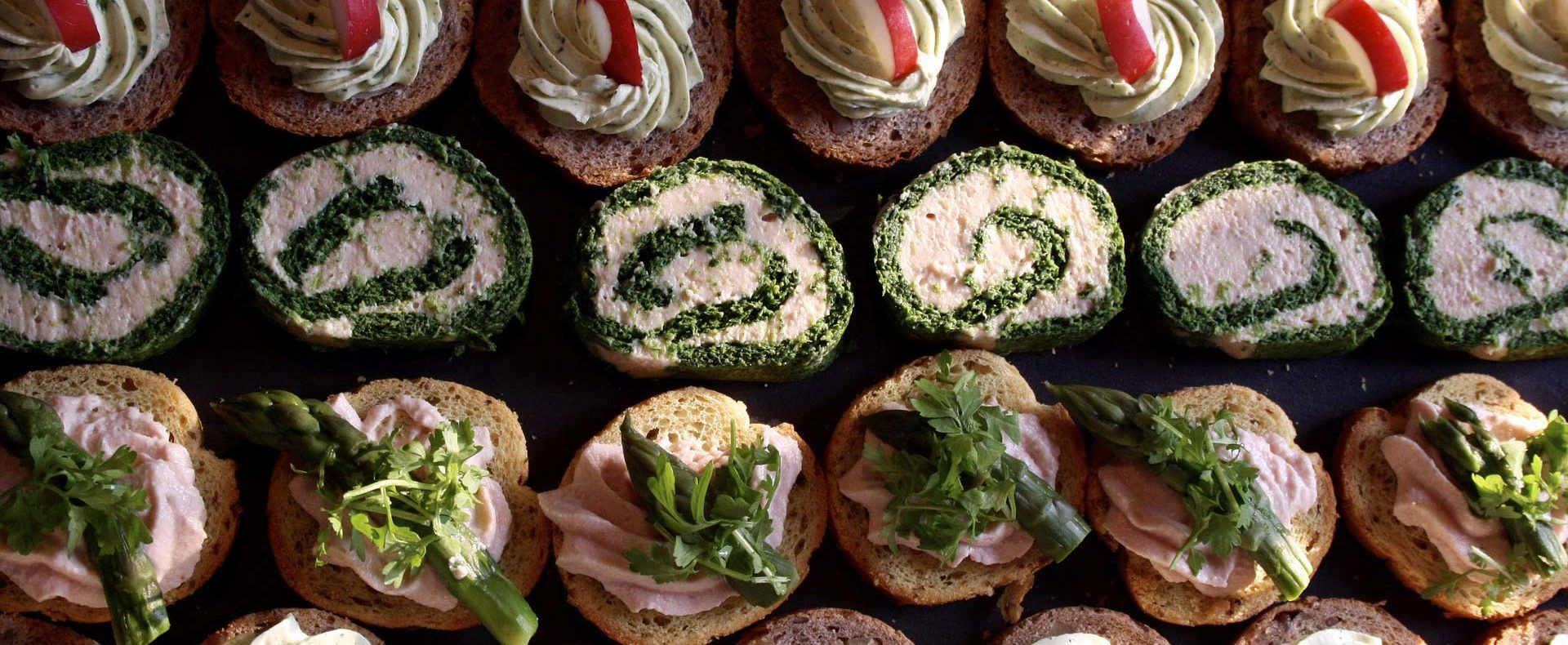 Catering / Partyservice - Canapés / Kanapees