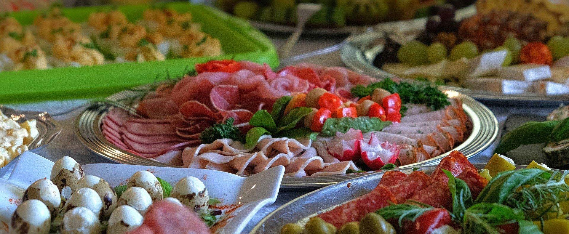 Catering / Partyservice - Kalte Platte: Wurstaufschnitt